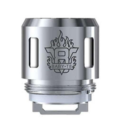 SMOK V8 Baby T8 brænder