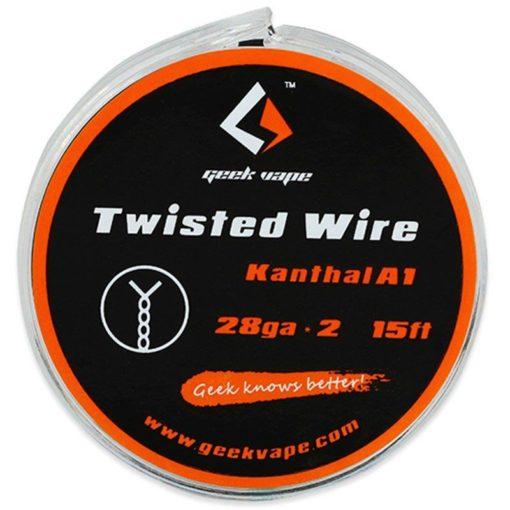 GeekVape Twisted Kanthal Double KA1 Tape Wire