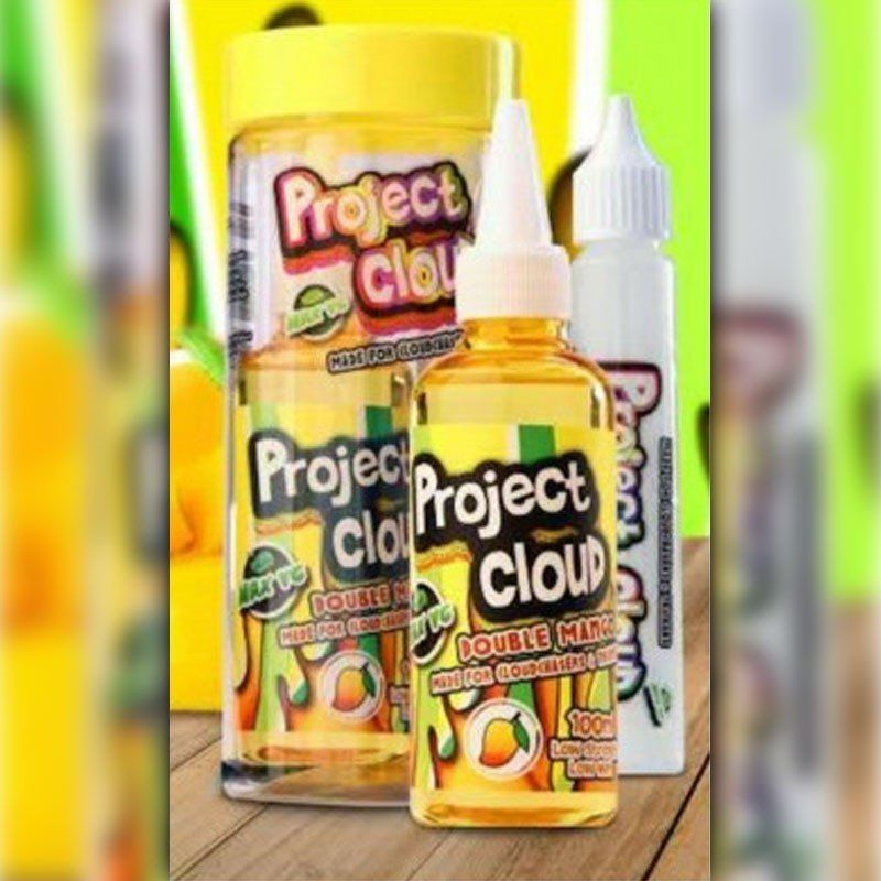 Project Cloud E-Liquid - Double Mango (Yellow)