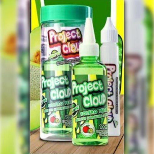 Project Cloud E-Liquid - Peach Solero (Green)