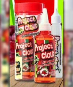 Project Cloud E-Liquid - Red Grape (Red)