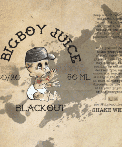 Big boy juice - Blackout - 60ml