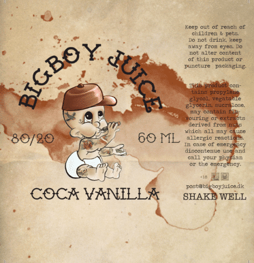 Big Boy Juice - Coca Vanilla