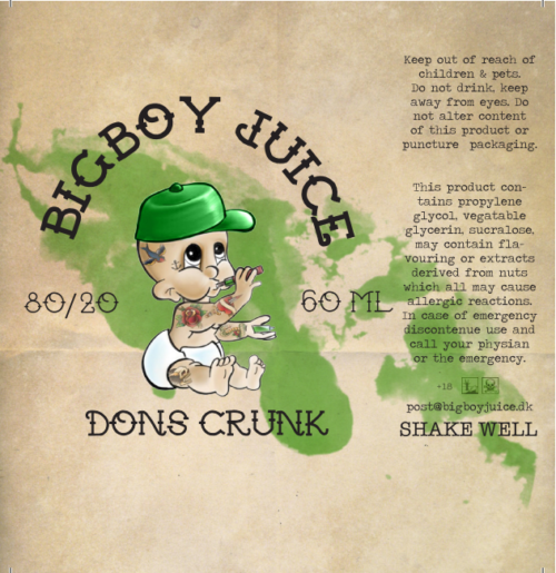 Big Boy Juice - Dons Crunk - 60 ml