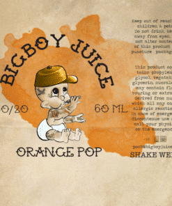 Big Boy Juice - Orange Pop