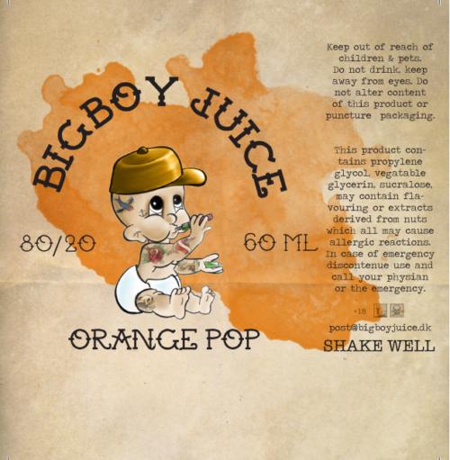 Big Boy Juice - Orange Pop