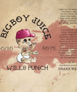 Big Boy Juice - Wills Punch - 60ml