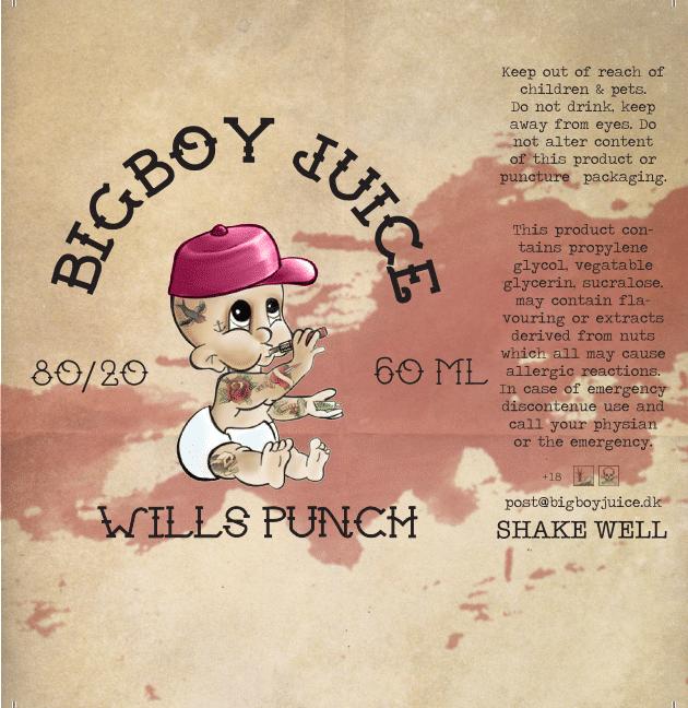 Big Boy Juice - Wills Punch - 60ml
