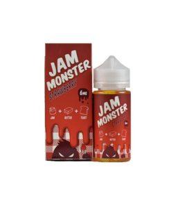 Jam monster strawberry evæske