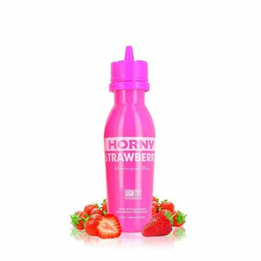Horny flava - strawberry 65ml